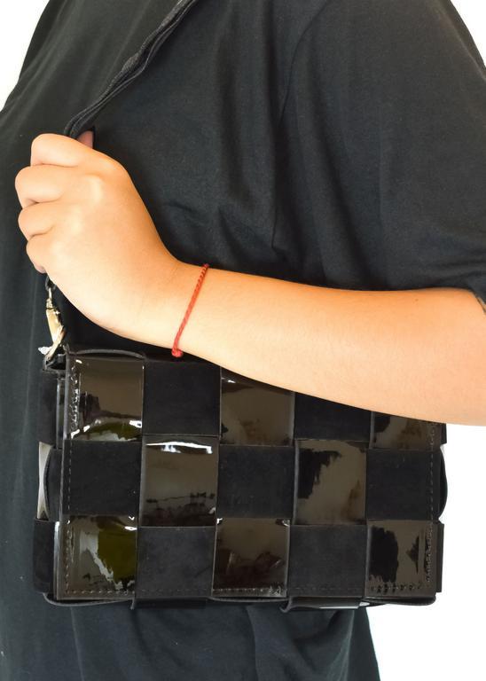 Dámska čierna kabelka LAURA BIAGGI SOLEE