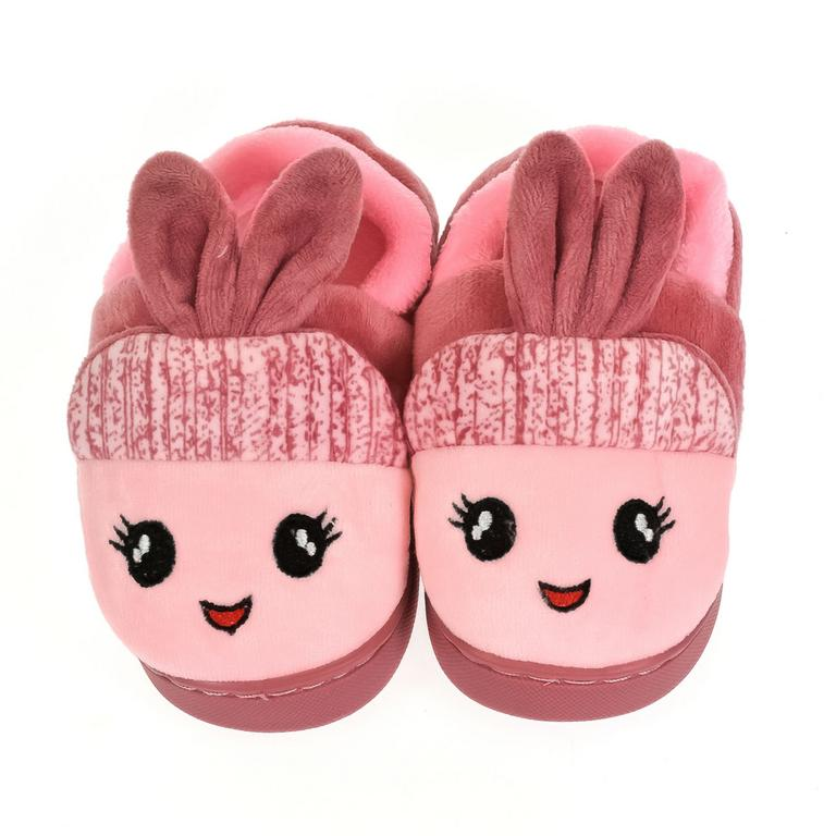 Detské ružové papuče ZAJKO