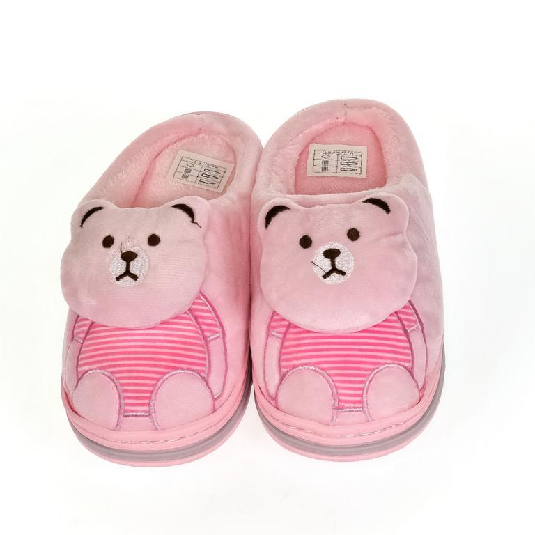 Detské ružové papuče MACKO