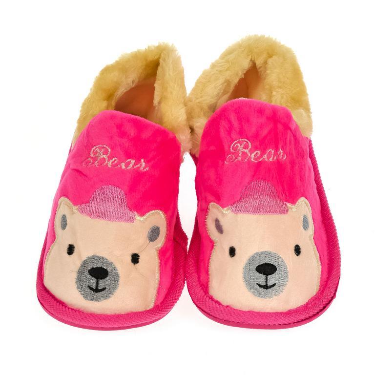 Detské ružové papuče BEAR