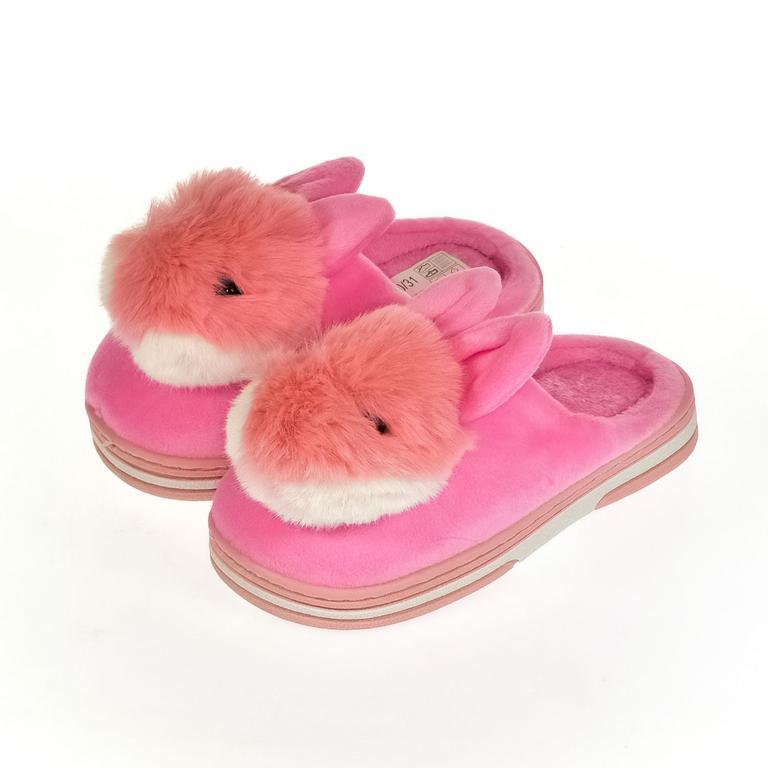 Detské ružové papuče ZAJO