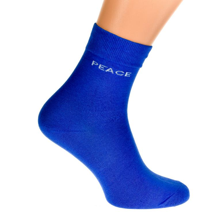Modré ponožky TERRY