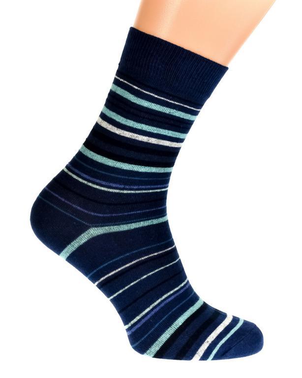 Tmavo-modré ponožky MAXWELL