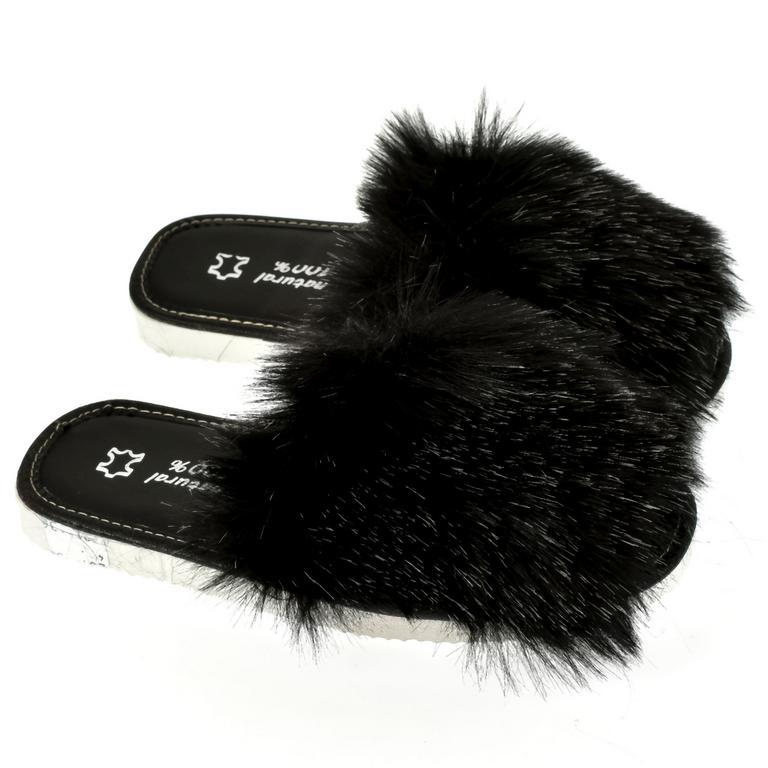 Dámske čierne papuče ALICA
