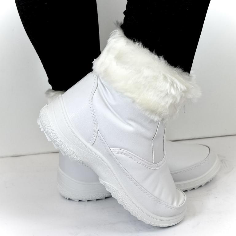 Dámske biele snehule RYSSA