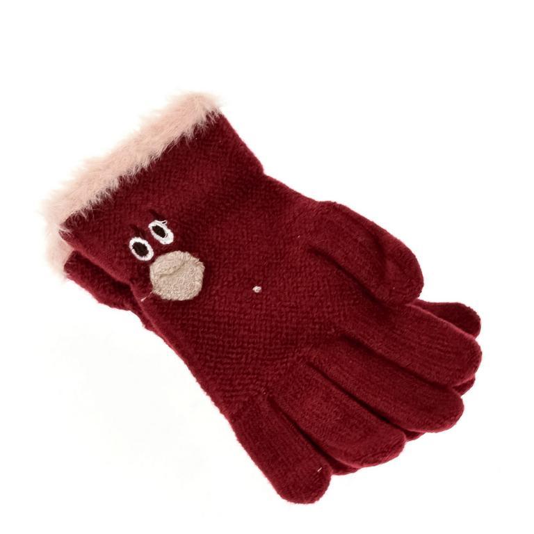 Detské červené rukavice PINGY