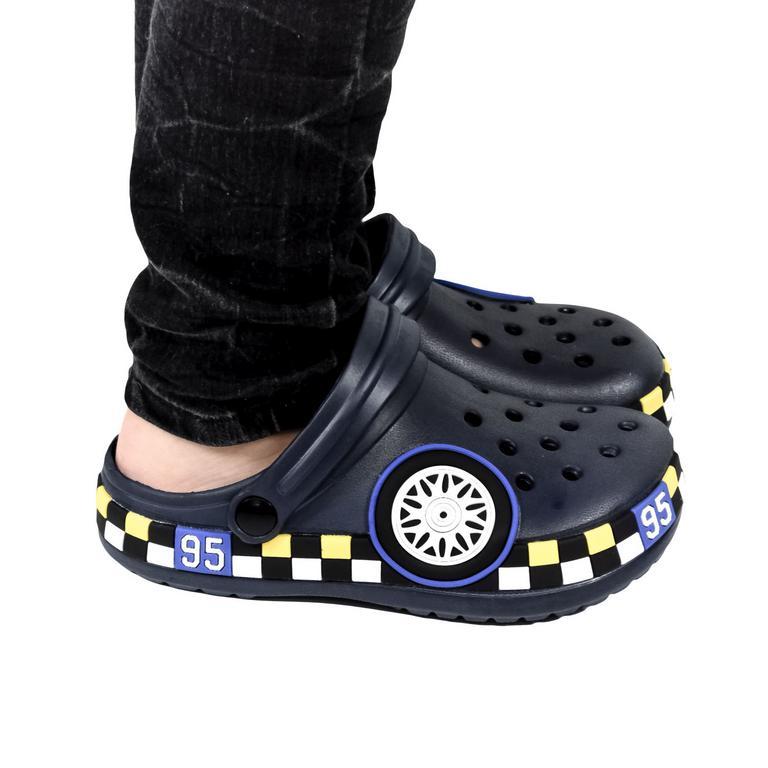 Detské tmavo-modré crocsy CARS