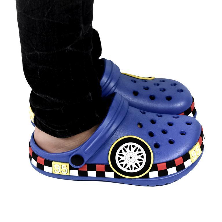 Detské modré crocsy CARS
