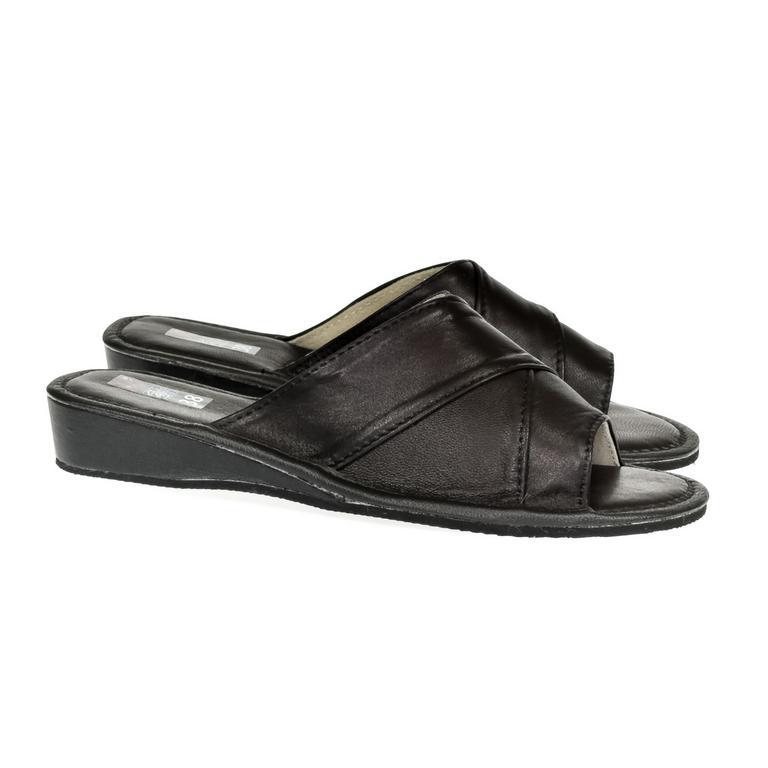 Dámske čierne papuče RITA