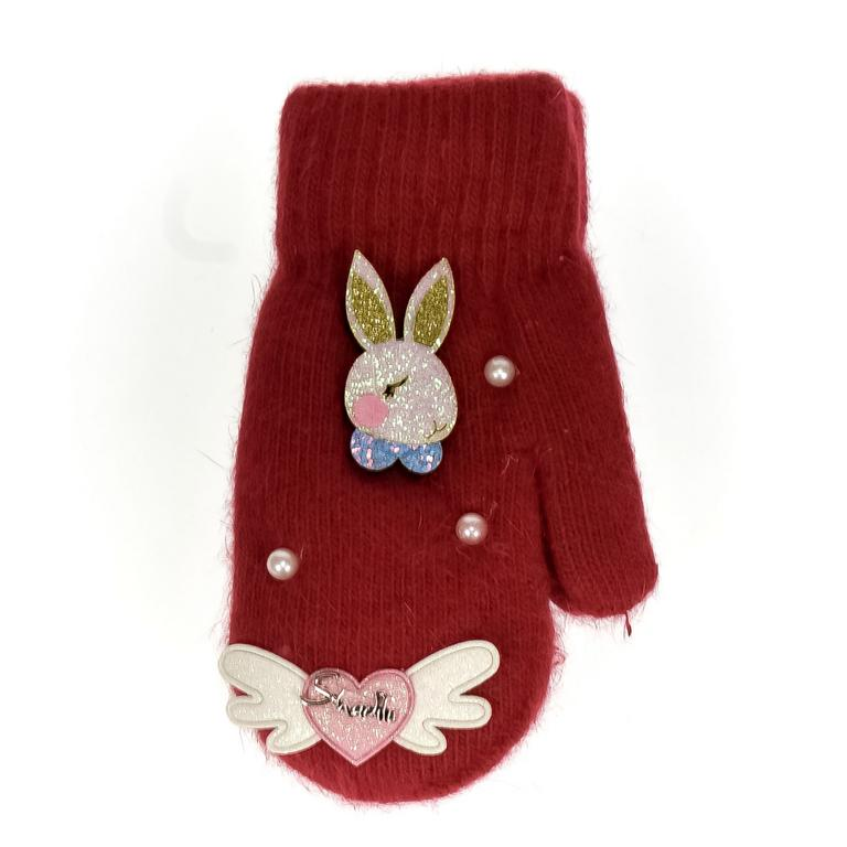 Detské červené rukavice MAE