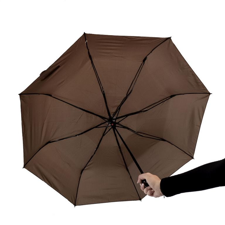Unisex hnedý dáždnik BENS