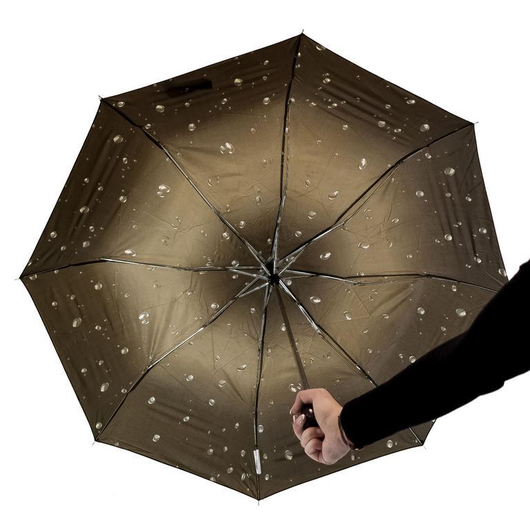 Unisex hnedý dáždnik RAIN