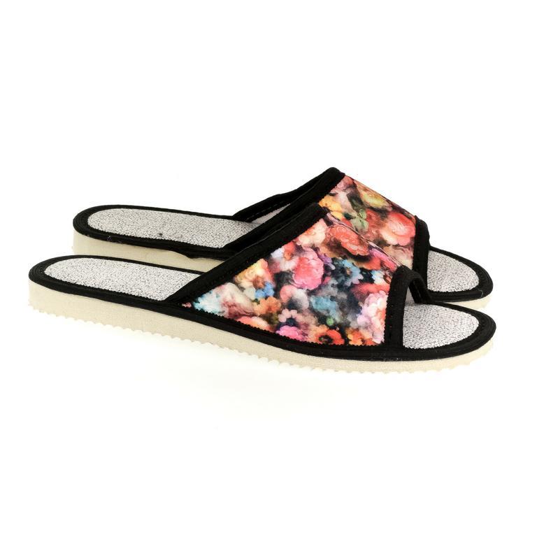 Dámske čierne papuče EMILY