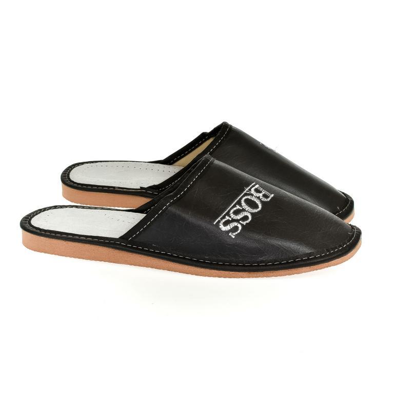 Pánske čierne papuče BOSS