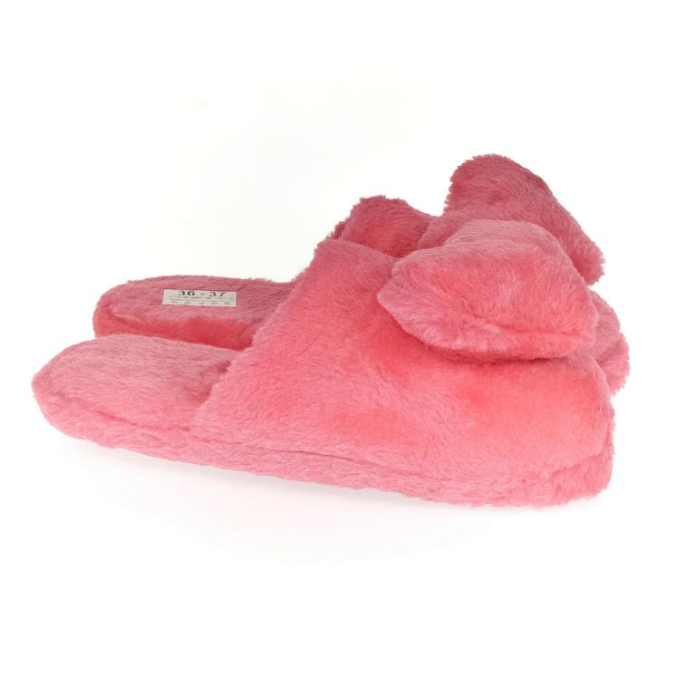 Dámske ružové papuče LOVE