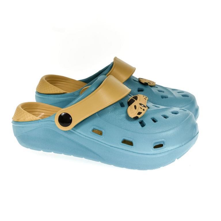 Detské modré crocsy ELLI 30-35