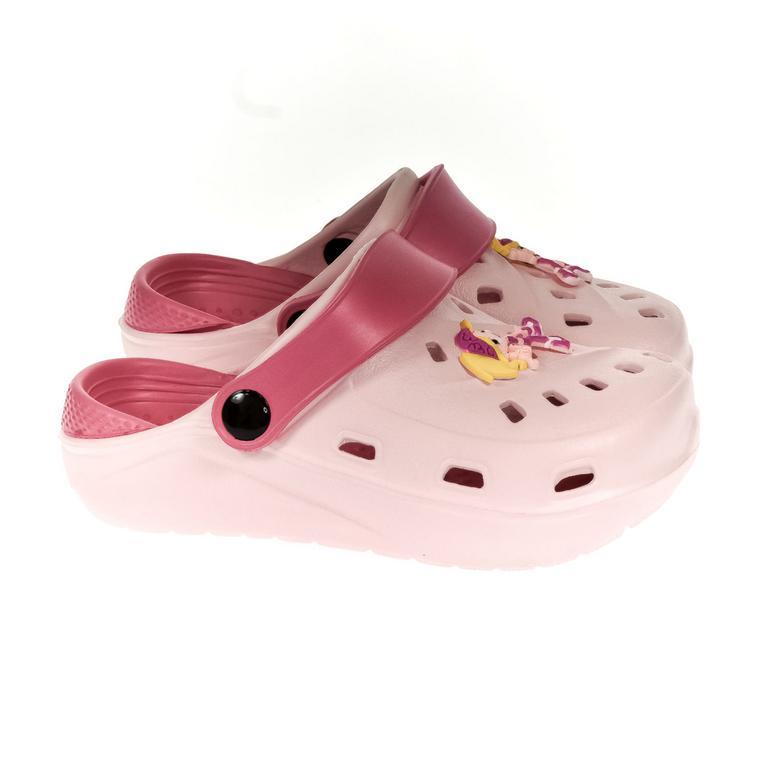Detské svetlo-ružové crocsy ELLI 30-35