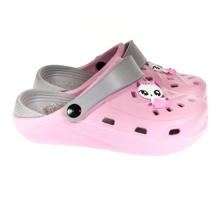 Detské ružové crocsy ELLI 30-35