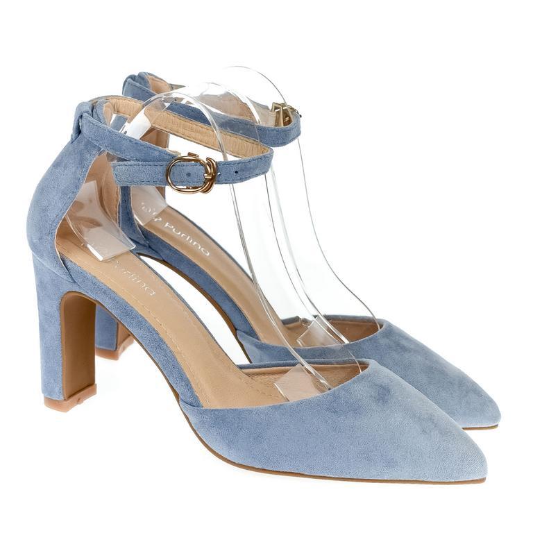 Dámske modré sandále PURLINA ELLICE