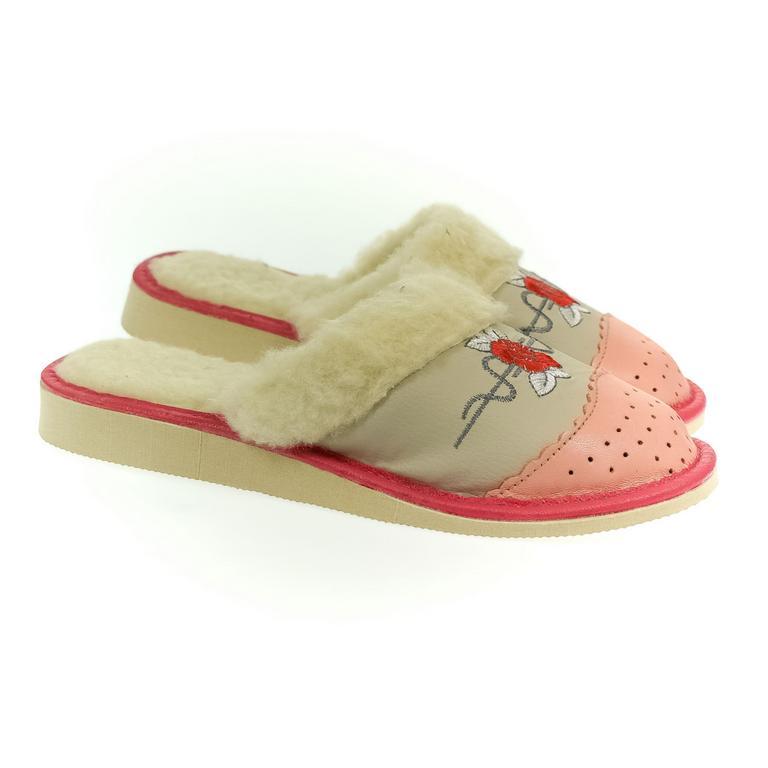 Dámske ružové papuče DANA