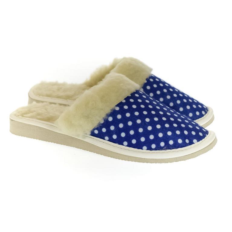 Dámske modré papuče DARCI