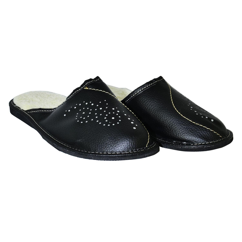 Pánske čierne papuče ALFONZ