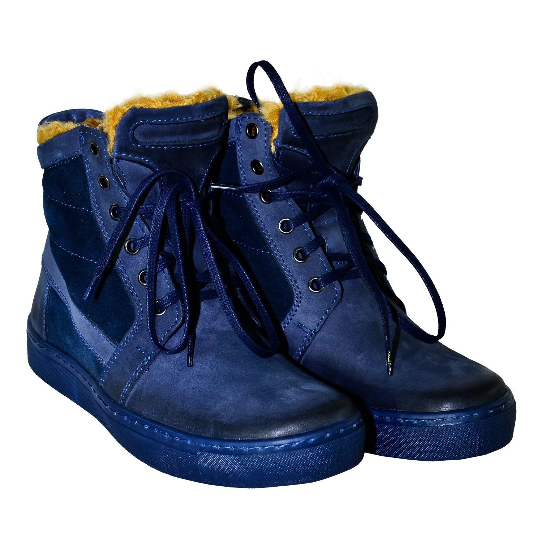 412dab127e02a Dámske modro-fialové kožené čižmy ANIS | Johnc.sk