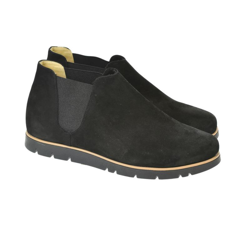 Dámske čierne členkové topánky AURICIAS