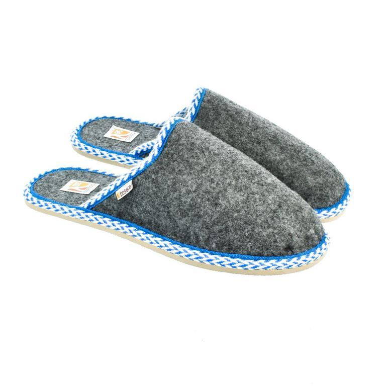 Dámske sivé papuče SEBI