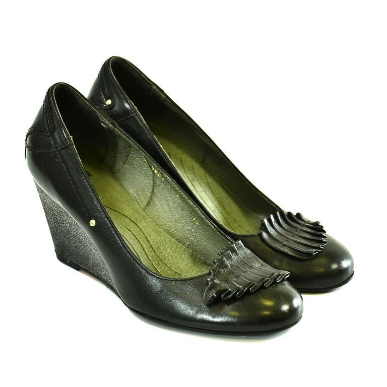 Dámske čierne topánky RIALE