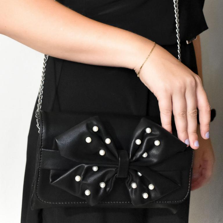 Dámska čierna kabelka ALORI