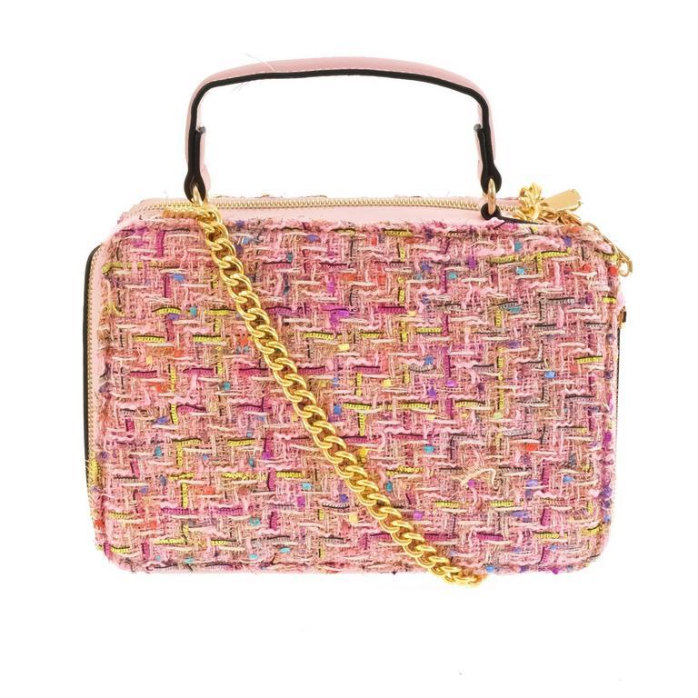 Dámska ružová kabelka EMERI