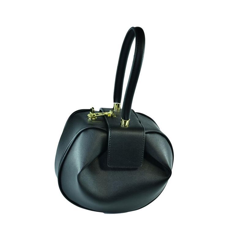 Dámska čierna kabelka LELY